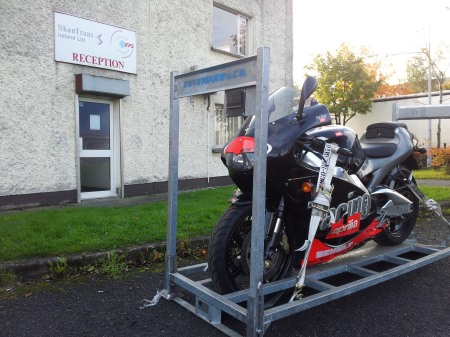 Ireland Motorcycle Transport