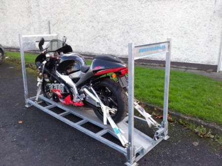 Motorcycle Transport Ireland From Bike On Board